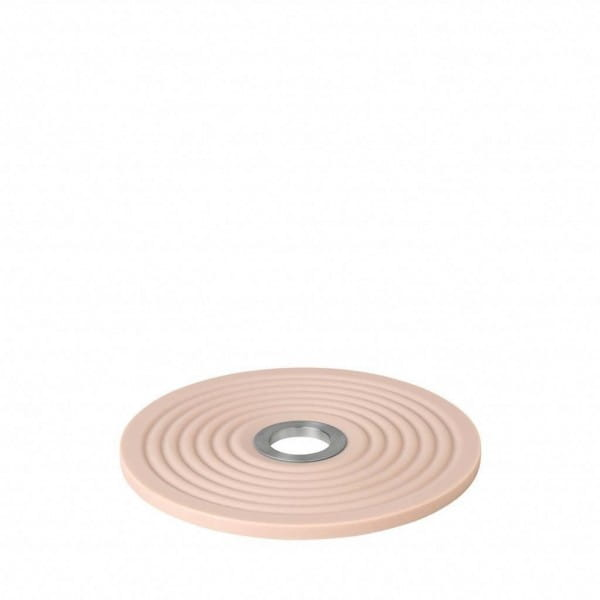 Untersetzer Oolong Rose Dust Edelstahl/Silikon ø14cm