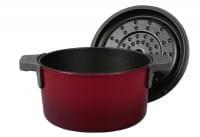 Bratentopf Iron ø20cm 2,8l Chili Red