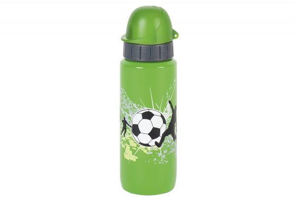 Trinkflasche Light Steel Kids Football 0,6l green