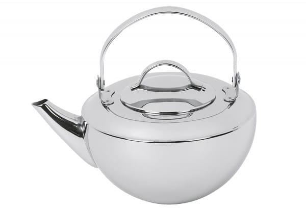 Teekanne Riga 0,8l einwandig mit Filter