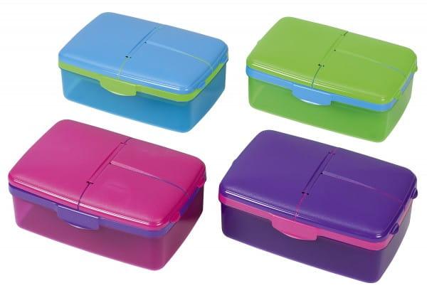 Lunchbox/Brotdose Quaddie 1,5l Trinkflasche 23x16,2x9,6cm