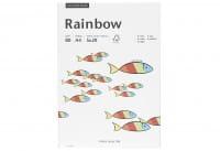 Kopierpapier Rainbow A4 80g/m² farbig 5x20 Blatt