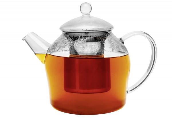 Teekanne Minuet Santhee 1,2l Glas mit Edelstahlfilter