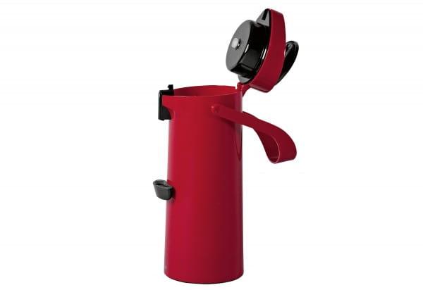 Pump-Isolierkanne Ponza 1,9l rot
