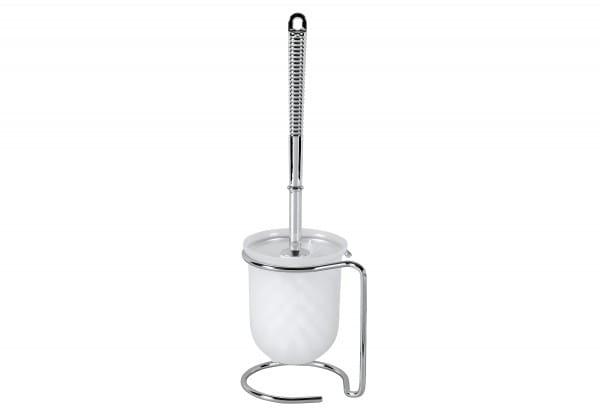 WC-Garnitur Piego mit weißem Bürstenkopf Ch12,5x36x10cm