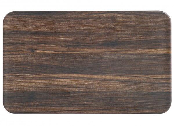 Brettchen Darkwood Bamboo Fibre 23,5x14,5cm