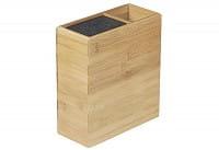 Messerblock Bambus Utensilienbehälter 20,5x9,4x23cm