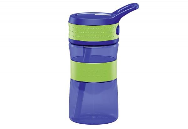 Trinkflasche EEN 0,4l apfelgrün/blau