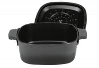 Kasserolle Iron 24x24cm 4,1l Carbon Grey
