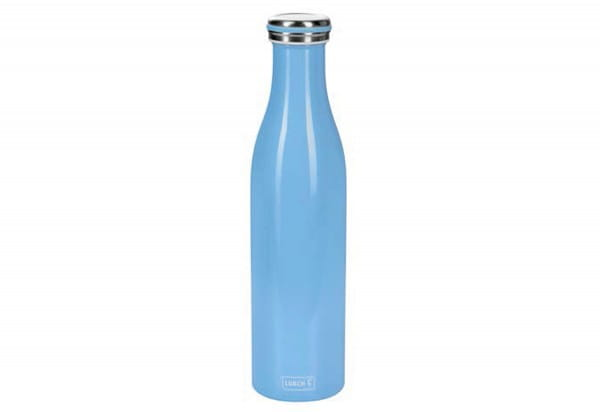 Thermo-Flasche Edelstahl 0,5l light blue