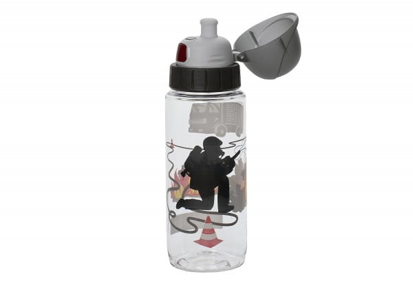 Trinkflasche Tritan Kids Fireman 0,5l transparent