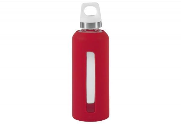 Glasflasche GLAS LIFESTYLE Star scarlet 0,5 l