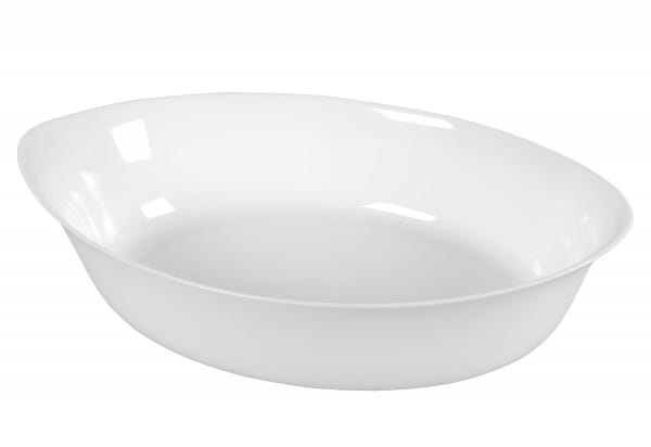 Auflaufform Glas oval 32cm