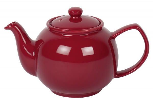 Teekanne 6 Tassen 1,1l rot