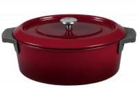 Bräter Iron 34x26cm 7,5l Chili Red