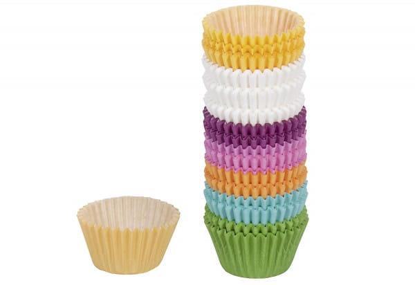 Papierbackförmchen Mini-Muffins Easy Baking Ø4,5cm bunt Pack 200teilig