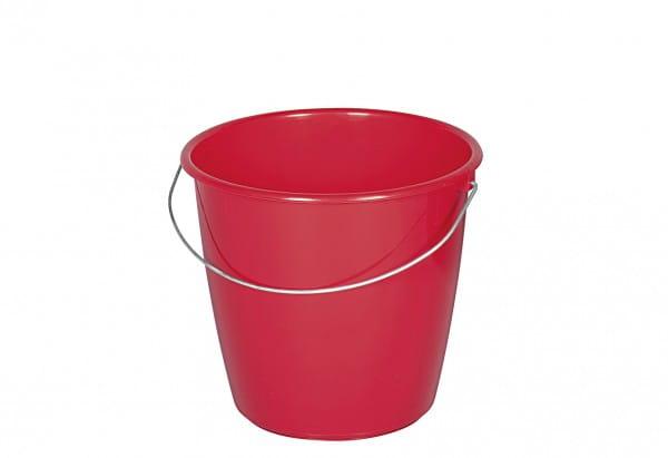 Kunststoffeimer 5l rot