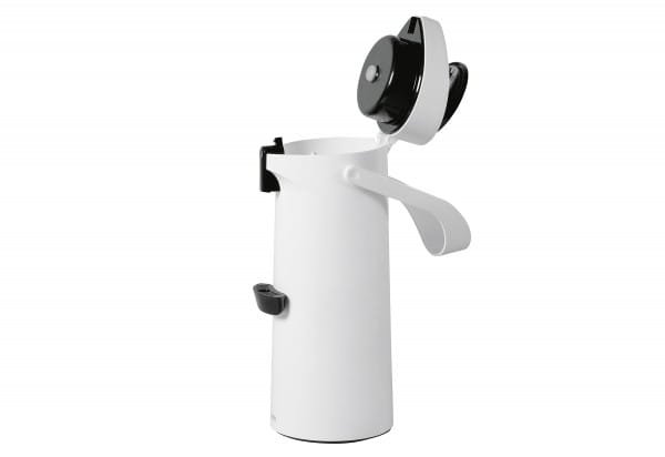 Pump-Isolierkanne Ponza 1,9l weiß
