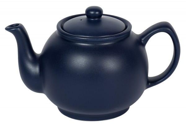 Teekanne 6 Tassen 1,1l matt blau