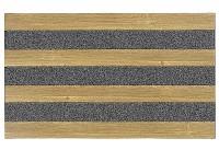 Bürstenfußmatte Woodland Eiche 46x76cm