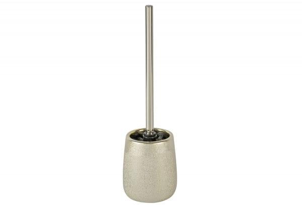 WC-Garnitur Glimma Keramik champagner Ø11,5x40cm
