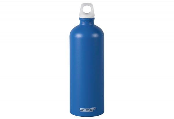 Trinkflasche 1l electric blue touch