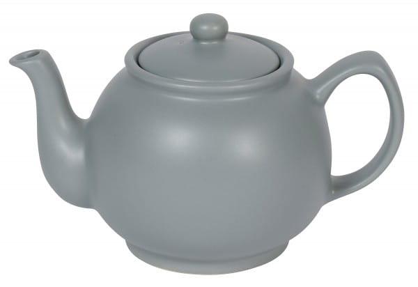 Teekanne 6 Tassen 1,1l matt grau