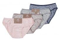 Damen-Bikini-Slip, 2er Pack