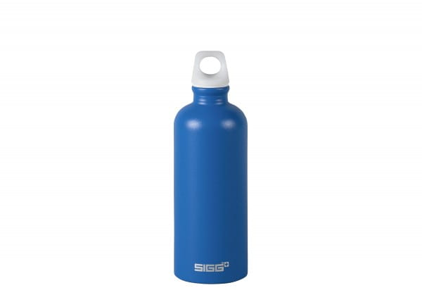 Trinkflasche 0,6l electric blue touch