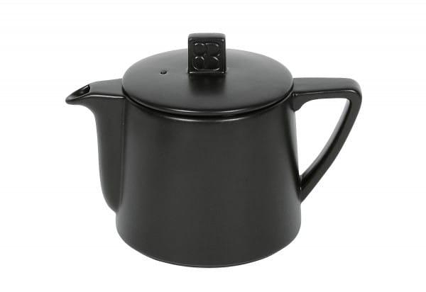 Teekanne Steingut Lund 0,5 l schwarz