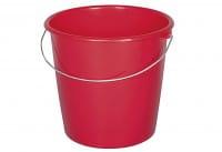 Kunststoffeimer 10l rot