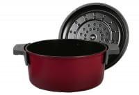 Bratentopf Iron ø24cm 5,2l Chili Red